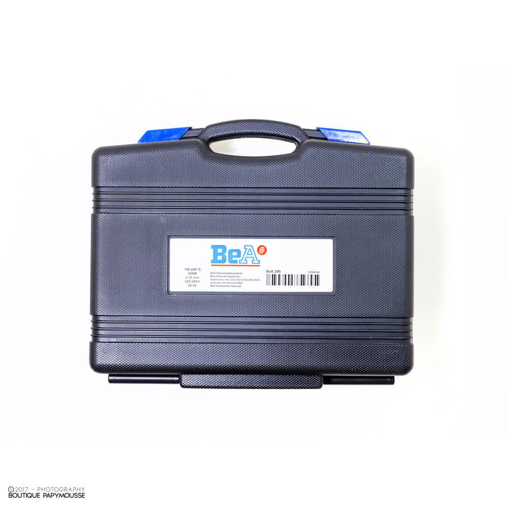 Pistolet à colle BeA 285 valise de transport